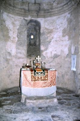 Altar in der Kirche von Salah