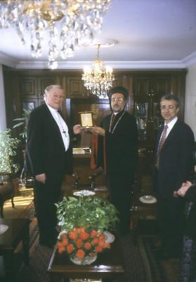 Beim Syrischen Bischof in Istanbul