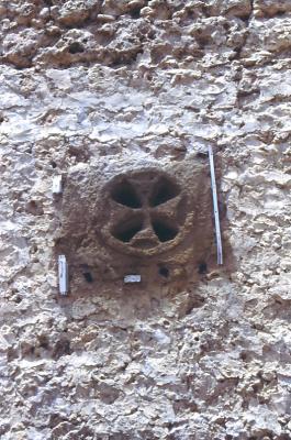 Das Kreuz am Kloster Mar Melki