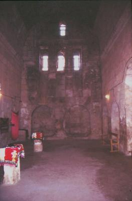 Innenraum der Kirche von Salah