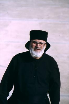Abt des Kloster  - im Jahr 1997