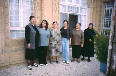 Familie in Mydiat - im Jahr 2001