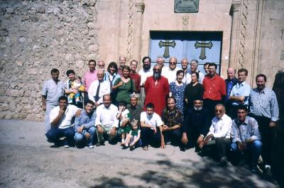 Ökum. Besuchergruppe anläßlich 1600 Jahre Kloster Mar Gabriel im Sept. 1997