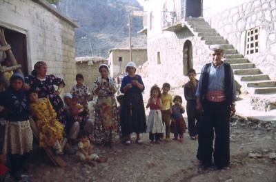 Bewohner von Hassana - im Jahr 1991