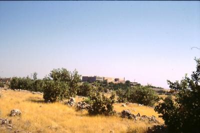 Kloster Mar Gabriel im Jahr 1995