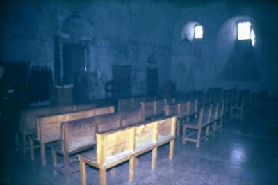 Der Kirchenraum im Jahr 1995