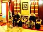 Gottesdienstbesuch in Dohuk, Treffen mit dem Governor u. seinem Stellvertreter