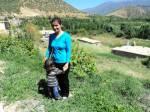 In Beshmaye, das Dorf von Hanna und ihrer Familie